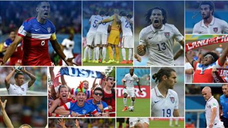 World Cup Soccer Collage
