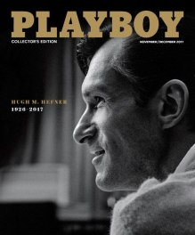 Hugh Hefner Playboy cover